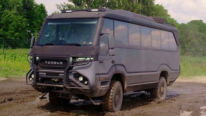 Div4133 Torsus Praetorian 4x4 Bus - NEW