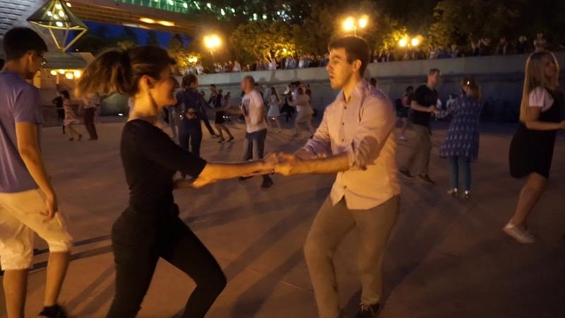 Джайв 2 Open air Бальные танцы в Парке Горького Москва 14 августа 2018