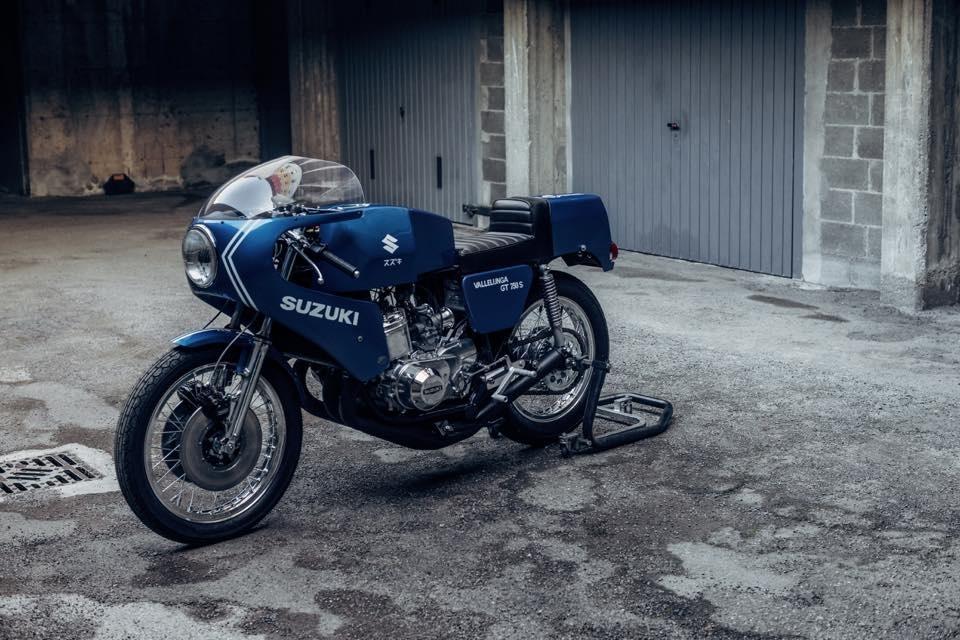 Soiatti Moto Classiche: восстановленый супербайк Suzuki-SAIAD GT750 S Vallelunga 1974