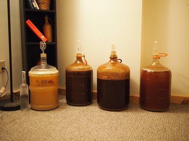 Пиво в домашних условиях из меда и 54