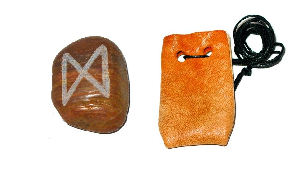 Рунические амулеты, талисманы ( камень ) с магическими программами.  HjTpPYsP02g