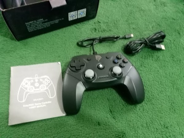 EasySMX EG C3071 Wired USB Game Controller Joystick with Dual Vibration Feedback for PC PS3 TV Box A