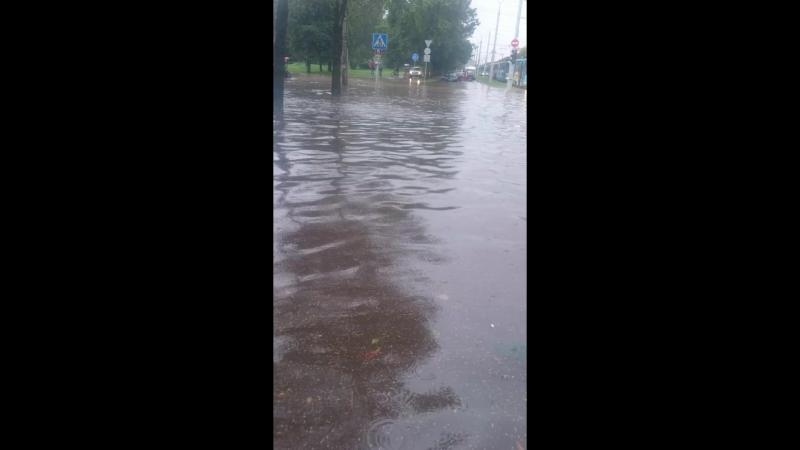 сегодняшний дождик на лагойке
