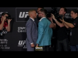 T.J. Dillashaw vs. Cody Garbrandt UFC 227 Media Day Staredown - MMA Fighting