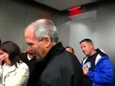 Steve Jobs jokingly refuses to sign an autograph to man in wheelchair 2006
