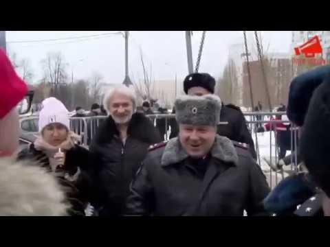 Вопрос к МВД РФ «Полиция Москвы работает на застройщиков»