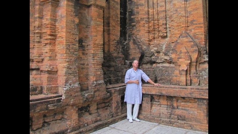 131 Вьетнам Нячанг путешествие Тямские башни По Нагар храмы Vietnam Nha Trang Po Nagar Cham Towers