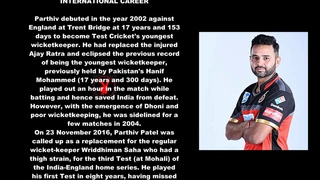 Parthiv Patel Indian Cricketer Biography With Detail
