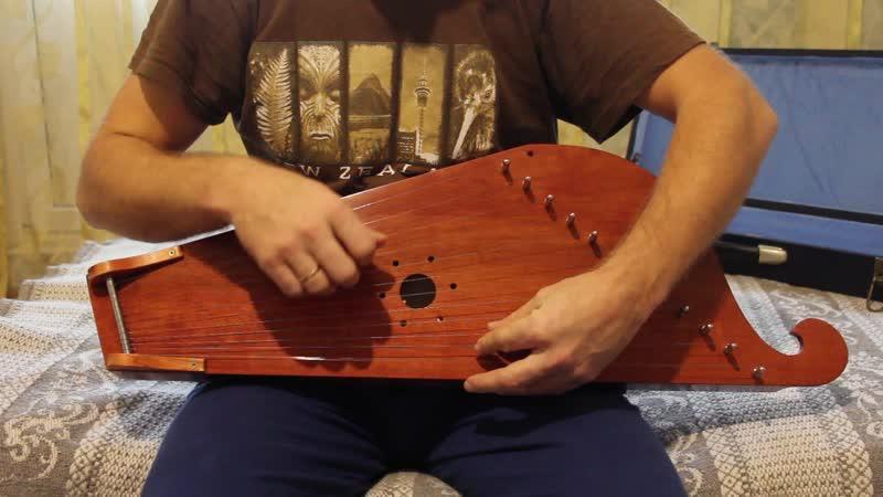 Гусли крыловидные Фирменные МаГИ 12 струнные Пример звучания
