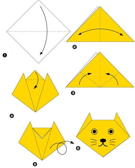 """Из раздела """"Оригами для"""