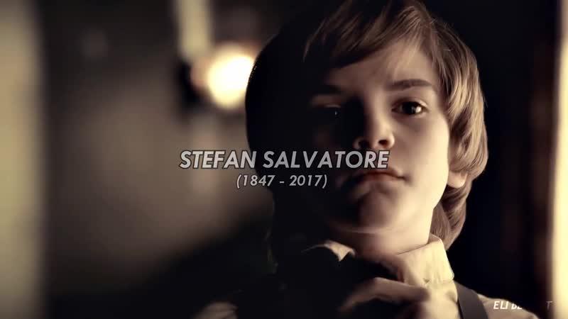 Stefan salvatore [1x01 - 8x16] - goodbye