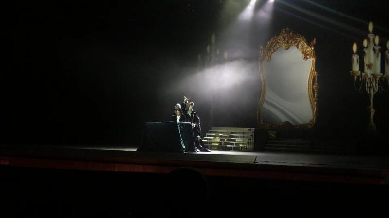 Денис Гуженко Ария Сальери из рок оперы Моцарт в программе Концерты на Бис репетиция РГМТ 05 07 18