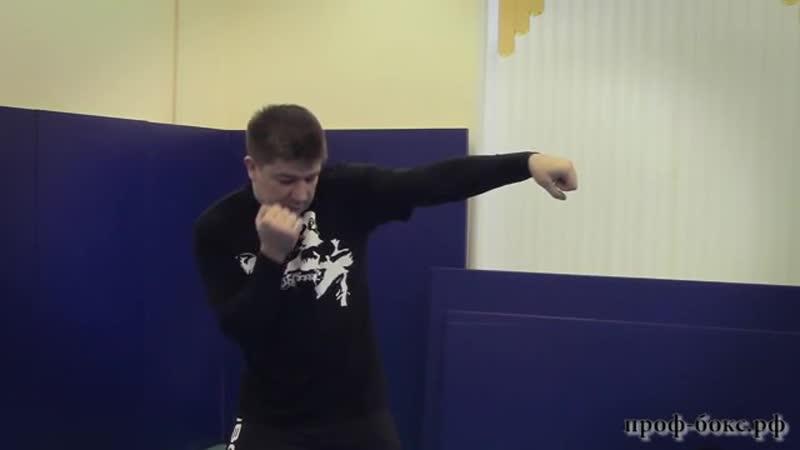Виды ударов в боксе Урок №5