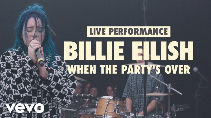 Выступление Billie Eilish с композицией «when the party's over» в рамках рубрики «VEVO» «LIFT»