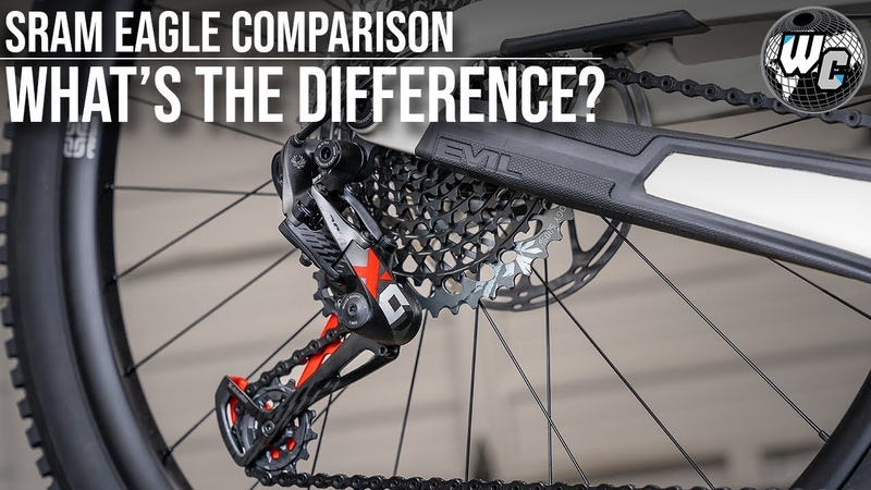 SRAM Eagle Shootout! NX vs GX vs X01 vs XX1 (Which is Best For You?)