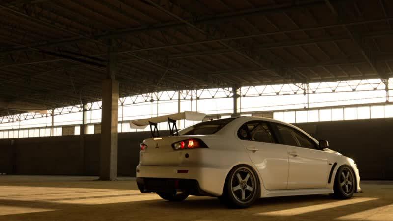 GTS динамические кадры Mitsubishi Lancer Evo X (2)