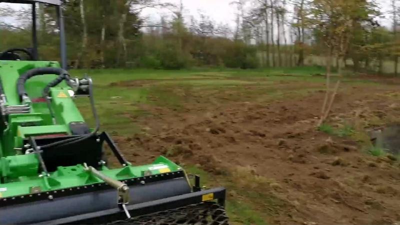 Подготовка участка под пасадку травы