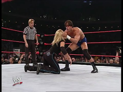 Trish Stratus Test (With Stacy Keibler) vs Victoria Steven Richards