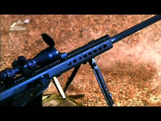 Огнестрельное оружие США (2011) | 11 серия. Винтовка Барретт