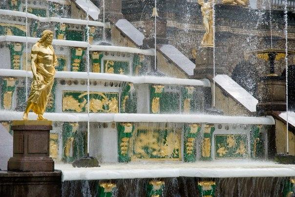 Петергоф, фонтан, фото