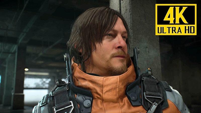 [4K] DEATH STRANDING (PS4) - E3 2018 Gameplay Trailer (Hideo Kojima) @ 2160p ✔