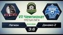 VII Чемпионат ЮСМФЛ. Третья лига. Легион - Динамо-2 36, 23.12.2018 г. Обзор