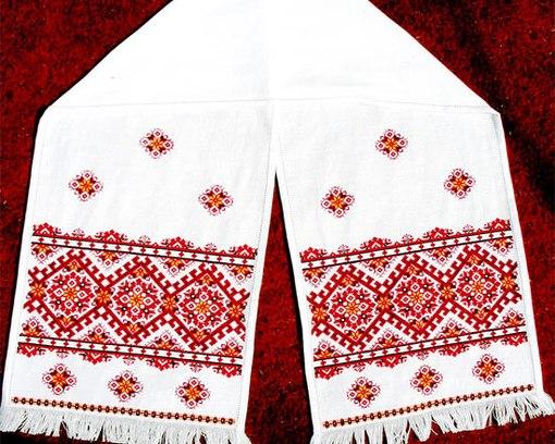 русской народной вышивки,