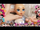 КАК СДЕЛАТЬ ООАК на куклу ЛОЛ Короче говоря, Конкурс Как сделать ООАК на кукле Эвер афтер хай