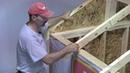Как построить каркасный дом, инструкция Часть 3 Изготовление и установка стропил