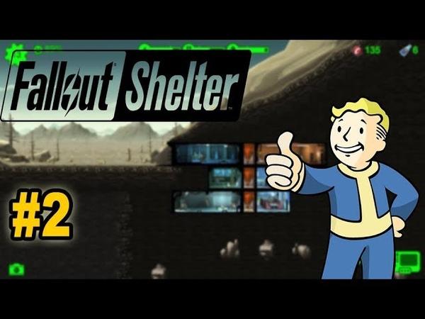 Fallout Shelter 2 улучшаю своё убежище