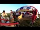 Полет на воздушном шаре Святая Русь над Богатырской слободой!