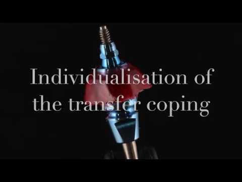 Индивидуализация слепочного трансфера Individualisation of the transfer coping