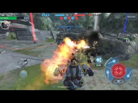 Стрим игры War Robots .