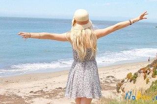 картинки для девушек блондинки со спины