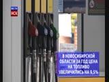 Стоимость бензина на новосибирских заправках увеличилась на 9,3% за год