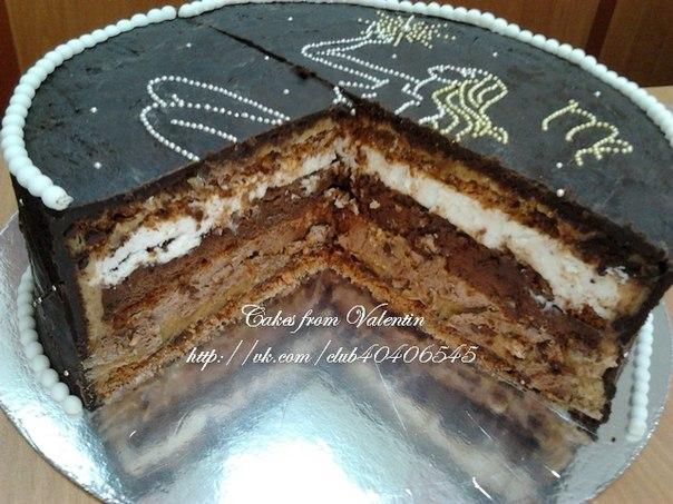 Торт скорый без выпекания фото 7