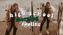 My REAL fall high school morning routine Josie Jabs