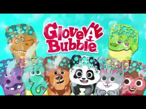 Набор мыльных пузырей Glove-A-Bubbles с волшебной перчаткой