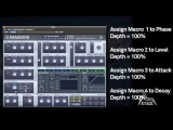 How To Make TheDarius Syrossian &amp Hector Couto -- 'We Both Loco' Bass Synth With NI Massive