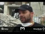 Ricky Martin in Haiti . Commercial Help ....azeriMusicMan