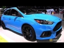 2018 Ford Focus RS - Exterior and Interior Walkaround - 2018 New York Auto Show