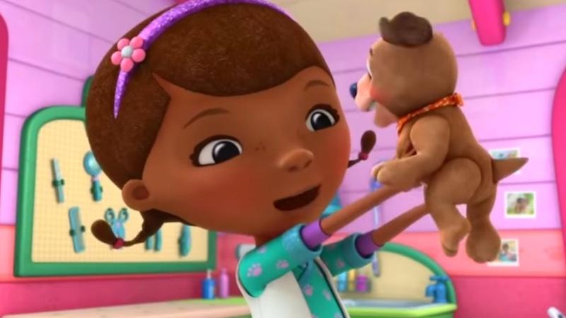 Доктор Плюшева Мультфильм Disney про игрушки Спецвыпуск Ищейка Финдо Лучший друг дракона