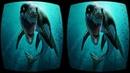 3D G2A Underwater VR Box Google Cardboard SBS Virtual Reality Video