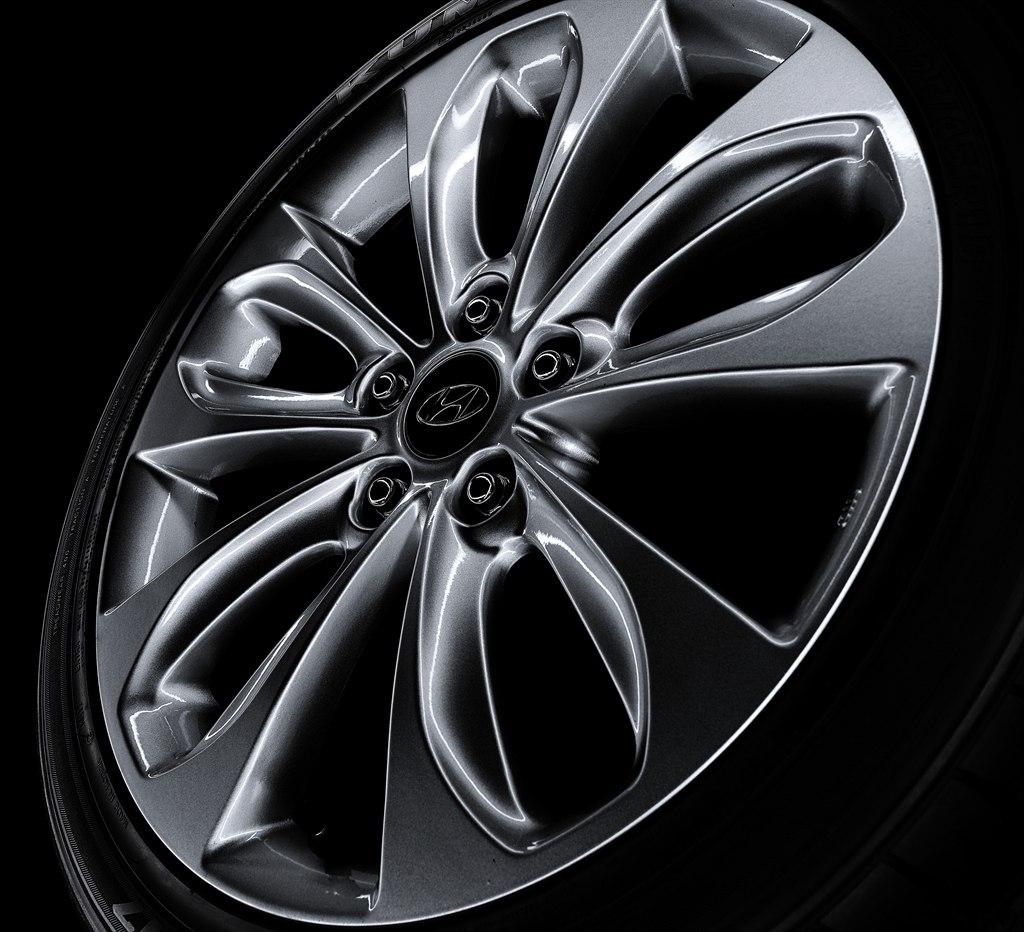 Литой диск Hyundai i30 2012