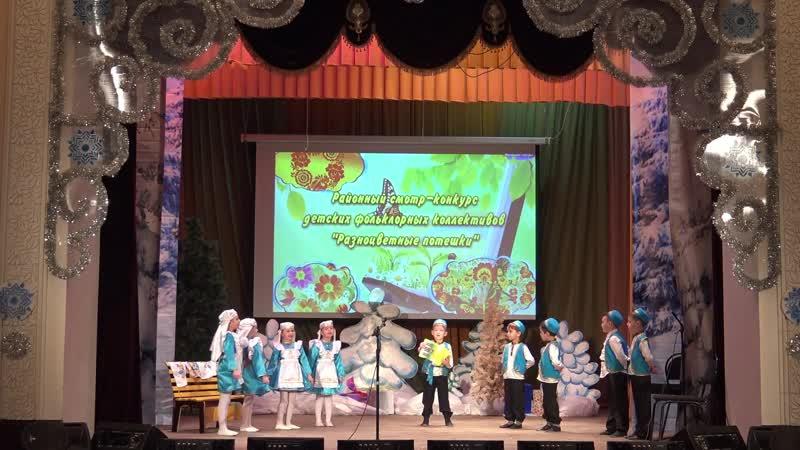 д/с Солнышко п.г.т Аксубаево на конкурсе детских фольклорных коллективов Разноцветные потешки