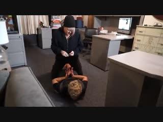 Sahrye Held Up At Work By JaneLynn