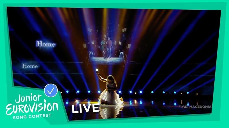 Marija Spasovska - Doma - LIVE - F.Y.R. Macedonia 🇲🇰 - Junior Eurovision 2018