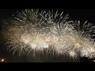 Финал праздника Феерверков РОСТЕХ2018 в Братеево.