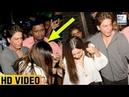 Shah Rukh Khan Protects Wife Gauri Khan From Fans At Zoya Akhtar's Birthday Party | LehrenTV