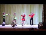 Чемпионат Луганской области по акробатическому рок-н-роллу